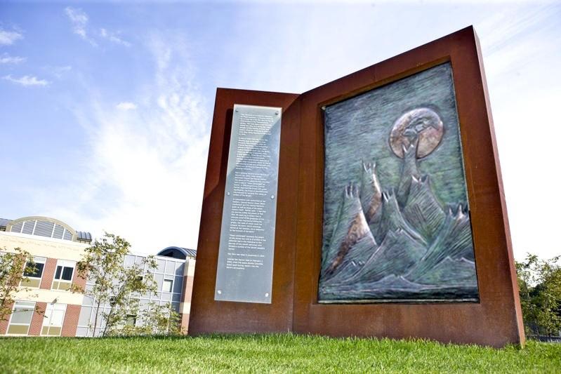 North Shore Hebrew Academy Memorial. Designed by Eddie Jacobs